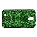 DAMASK2 BLACK MARBLE & GREEN WATERCOLOR (R) Samsung Galaxy Mega 6.3  I9200 Hardshell Case View1