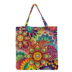1960st Daydream Grocery Tote Bag