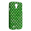 SCALES3 BLACK MARBLE & GREEN WATERCOLOR (R) Samsung Galaxy S4 I9500/I9505 Hardshell Case View2