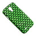 SCALES3 BLACK MARBLE & GREEN WATERCOLOR (R) Samsung Galaxy S4 I9500/I9505 Hardshell Case View5