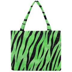 Skin3 Black Marble & Green Watercolor (r) Mini Tote Bag