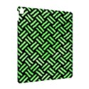WOVEN2 BLACK MARBLE & GREEN WATERCOLOR Apple iPad Pro 10.5   Hardshell Case View2