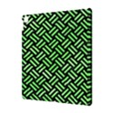 WOVEN2 BLACK MARBLE & GREEN WATERCOLOR Apple iPad Pro 10.5   Hardshell Case View3