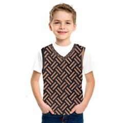 Woven2 Black Marble & Light Maple Wood Kids  Sportswear