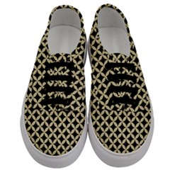 Circles3 Black Marble & Light Sand Men s Classic Low Top Sneakers
