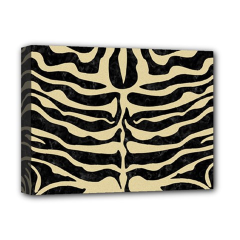 Skin2 Black Marble & Light Sand Deluxe Canvas 16  X 12