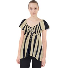 Skin3 Black Marble & Light Sand (r) Lace Front Dolly Top
