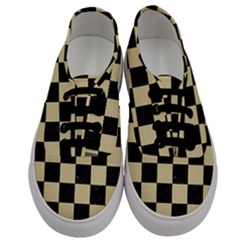 Square1 Black Marble & Light Sand Men s Classic Low Top Sneakers