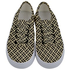 Woven2 Black Marble & Light Sand (r) Kids  Classic Low Top Sneakers