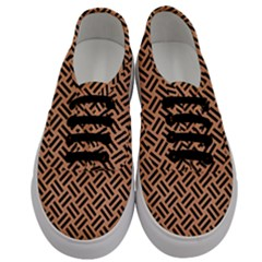 Woven2 Black Marble & Natural Red Birch Wood (r) Men s Classic Low Top Sneakers