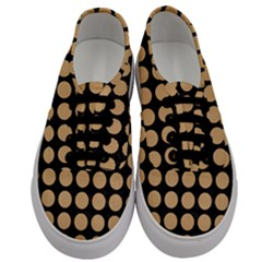 Circles1 Black Marble & Natural White Birch Wood Men s Classic Low Top Sneakers