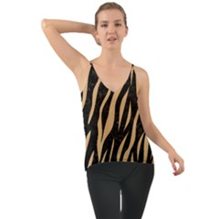 Skin3 Black Marble & Natural White Birch Wood Cami