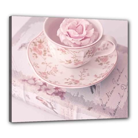 Shabby Chic High Tea Canvas 24  X 20