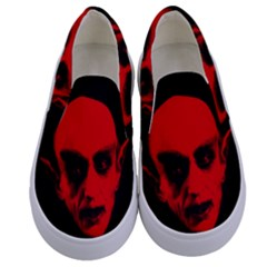 Dracula Kids  Canvas Slip Ons