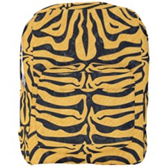Skin2 Black Marble & Orange Colored Pencil (r) Full Print Backpack