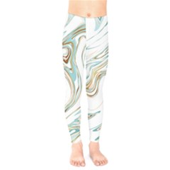 Abstract Marble 1 Kids  Legging