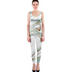 Abstract Marble 1 Onepiece Catsuit