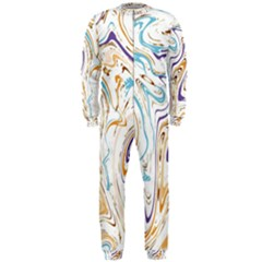 Abstract Marble 3 Onepiece Jumpsuit (men)