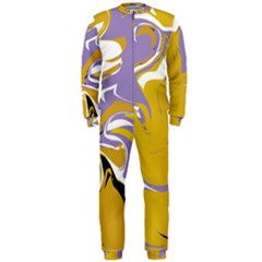 Abstract Marble 7 Onepiece Jumpsuit (men)