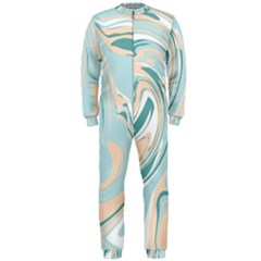 Abstract Marble 11 Onepiece Jumpsuit (men)