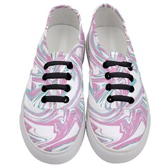 Abstract Marble 12 Women s Classic Low Top Sneakers