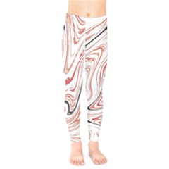 Abstract Marble 13 Kids  Legging