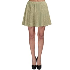 Modern, Gold,polka Dots, Metallic,elegant,chic,hand Painted, Beautiful,contemporary,deocrative,decor Skater Skirt