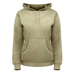 Modern, Gold,polka Dots, Metallic,elegant,chic,hand Painted, Beautiful,contemporary,deocrative,decor Women s Pullover Hoodie