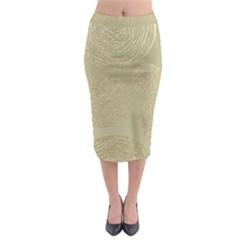 Modern, Gold,polka Dots, Metallic,elegant,chic,hand Painted, Beautiful,contemporary,deocrative,decor Midi Pencil Skirt