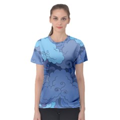Abstract Nature 1 Women s Sport Mesh Tee
