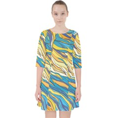 Abstract Nature 7 Pocket Dress