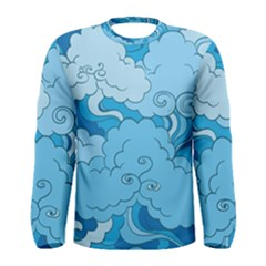 Abstract Nature 9 Men s Long Sleeve Tee