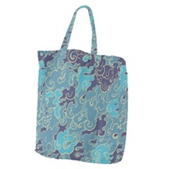 Abstract Nature 10 Giant Grocery Zipper Tote