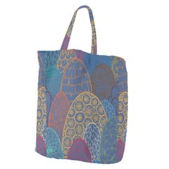 Abstract Nature 13 Giant Grocery Zipper Tote