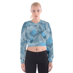 Abstract Nature 16 Cropped Sweatshirt