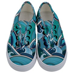 Abstract Nature 19 Kids  Classic Low Top Sneakers