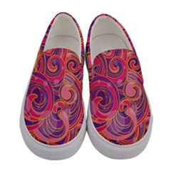 Abstract Nature 22 Women s Canvas Slip Ons