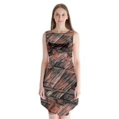Grannys Hut   Structure 1b Sleeveless Chiffon Dress