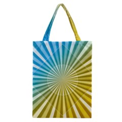 Abstract Art Art Radiation Classic Tote Bag