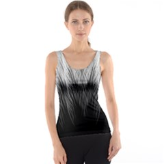Feather Graphic Design Background Tank Top