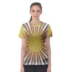 Abstract Art Art Modern Abstract Women s Sport Mesh Tee