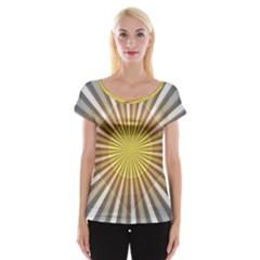 Abstract Art Art Modern Abstract Cap Sleeve Tops