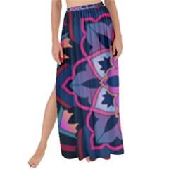 Mandala Circular Pattern Maxi Chiffon Tie Up Sarong