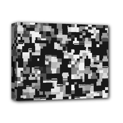 Noise Texture Graphics Generated Deluxe Canvas 14  X 11