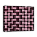 WOVEN1 BLACK MARBLE & PINK WATERCOLOR (R) Deluxe Canvas 20  x 16   View1
