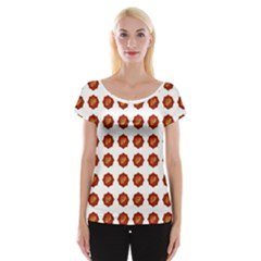 I Ching Set Collection Divination Cap Sleeve Tops