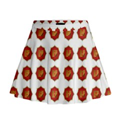I Ching Set Collection Divination Mini Flare Skirt