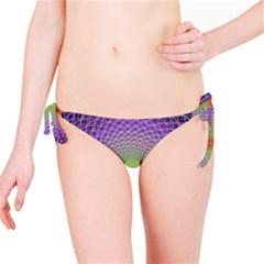Art Digital Fractal Spiral Spin Bikini Bottom
