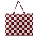 Pattern Background Texture Zipper Large Tote Bag View1