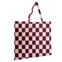 Pattern Background Texture Zipper Large Tote Bag View2
